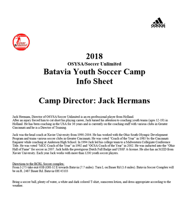 Picture of Batavia Youth Soccer Camp by Jack Hermans