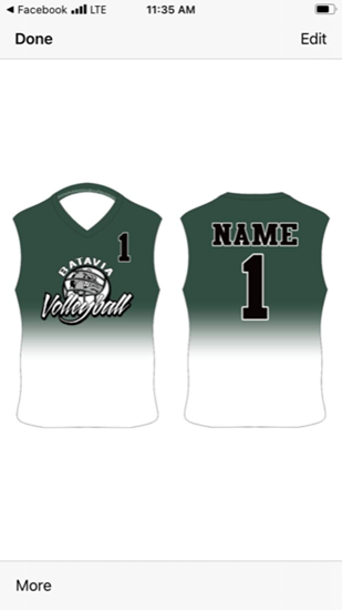 Picture of Volleyball Jersey